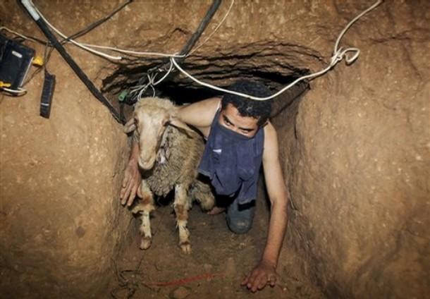 Immagine dei tunnel di Gaza