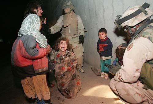 U.S. troops fire on car, killing 2 civilians